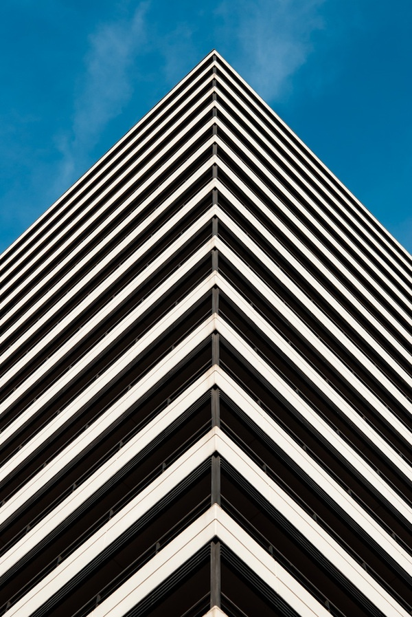 Abstract Buildings by Kostyantyn Holovanov, via Behance