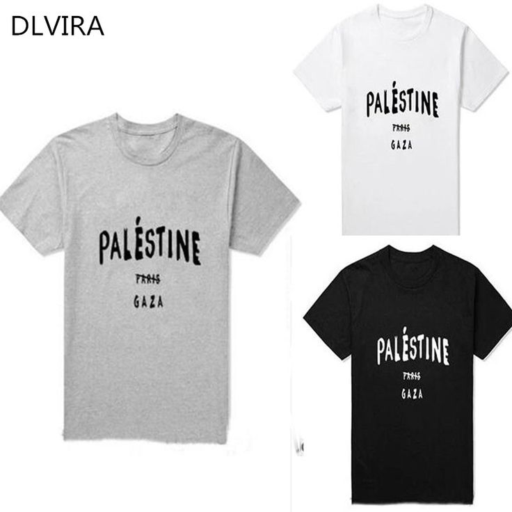 >> Click to Buy << 2017 DLVIRA S-3XL Funny Gaza Palestine Paris 5sos Design T shirts Summer Slim Fit Casual women Tees Fashion T-shirts #Affiliate
