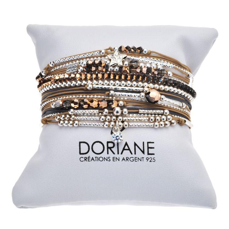 """POIGNET SABLE DORE - BRACELETS/Nos """"poignets d'amour"""" - DORIANE Bijoux"""