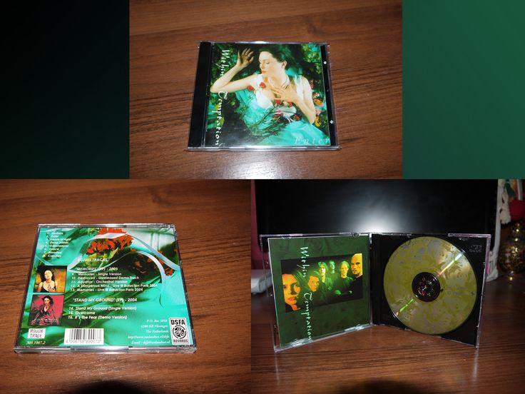 Within Temptation - Enter (jewel case with bonus single Memories and single Stand my Ground) CD) Russia