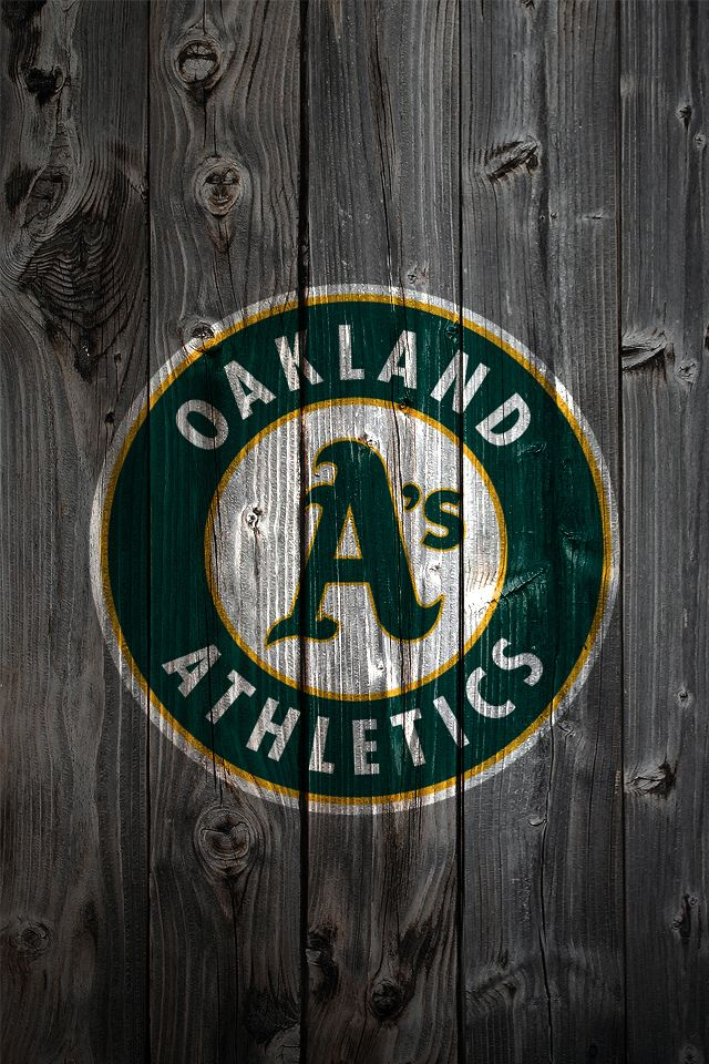 Oakland Athletics iPhone Wallpaper Background MLB