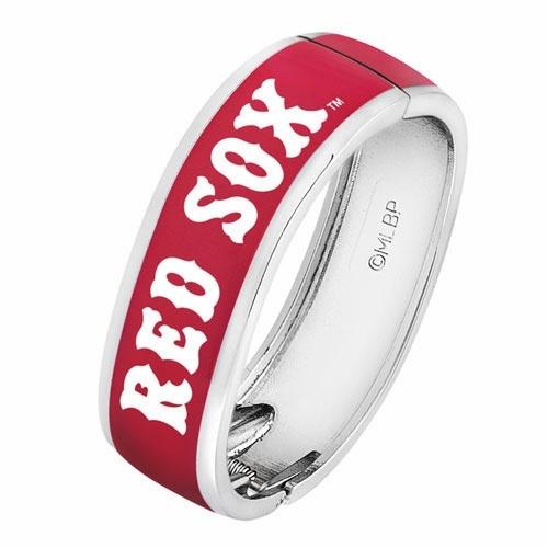 Boston Red Sox Ladies Reserve Bangle Bracelet
