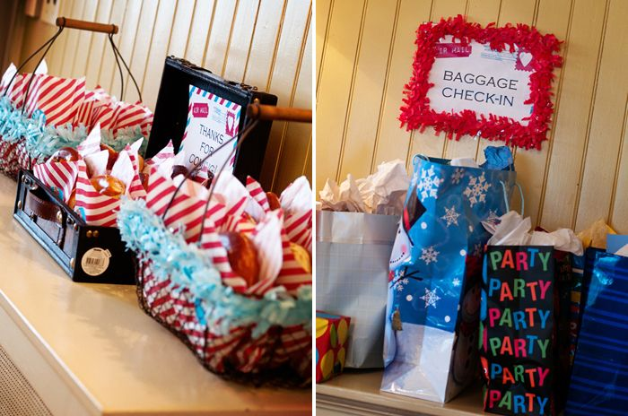 travel theme party favors | Travel Inspired Guest Dessert Feature » Travel themed Party favors