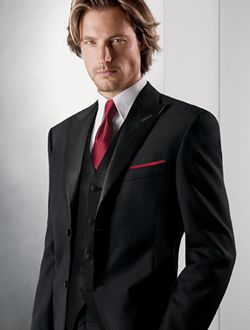 1000  ideas about Black Suit Red Tie on Pinterest | Dark gray suit