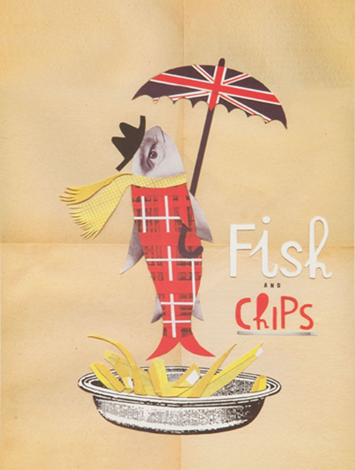 Sara Fanelli / Fish'n'Chips