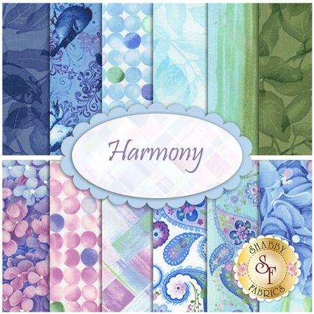 Harmony  Yardage by Chong-a Hwang for Timeless Treasures Fabrics