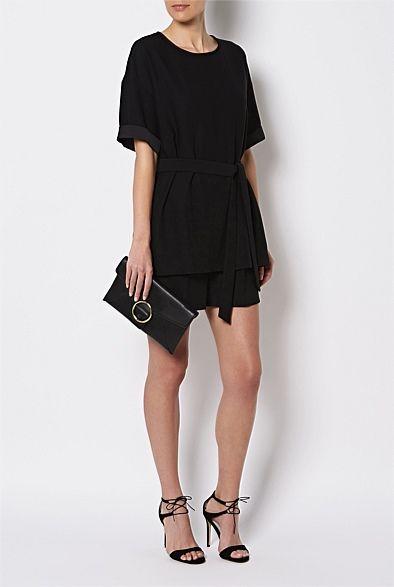 Shop Women's Clothing Australia - Witchery Online - Tunic Playsuit