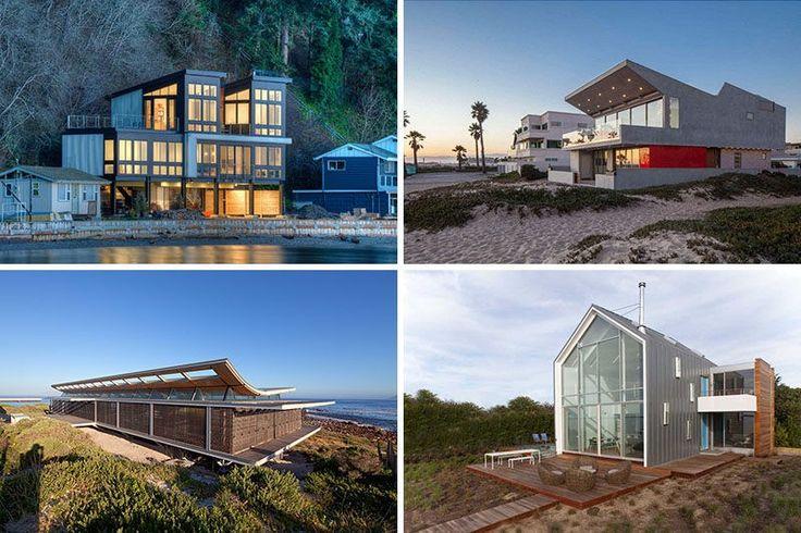 14 Beispiele für moderne Strandhäuser