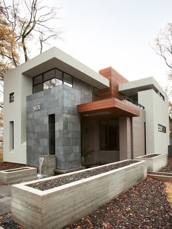 Atlanta modern home designed by West Architecture Studio and built by Cablik Enterprises. AWH Photo and Design