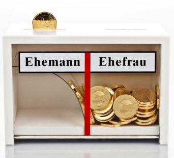 Spardose Eheleute als Hochzeitsgeschenk und Geldgeschenk