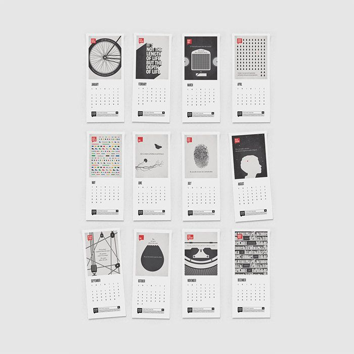 50 невероятно красивых календарей на 2016 год   Сей-Хай
