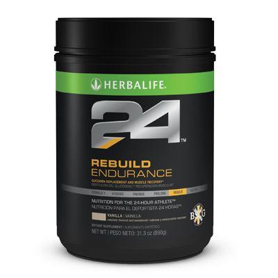 Rebuild EnduranceAcelera la recuperación tras el ejercicio aeróbico favoreciendo la restitución del glucógeno e iniciando la reparación de los daños musculares.*