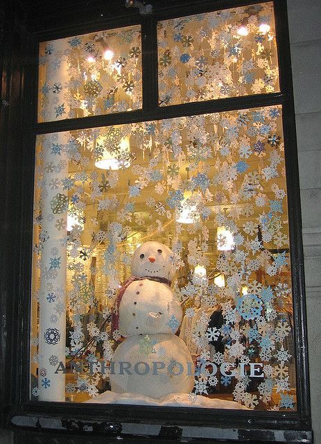 Christmas Window Decoration Ideas