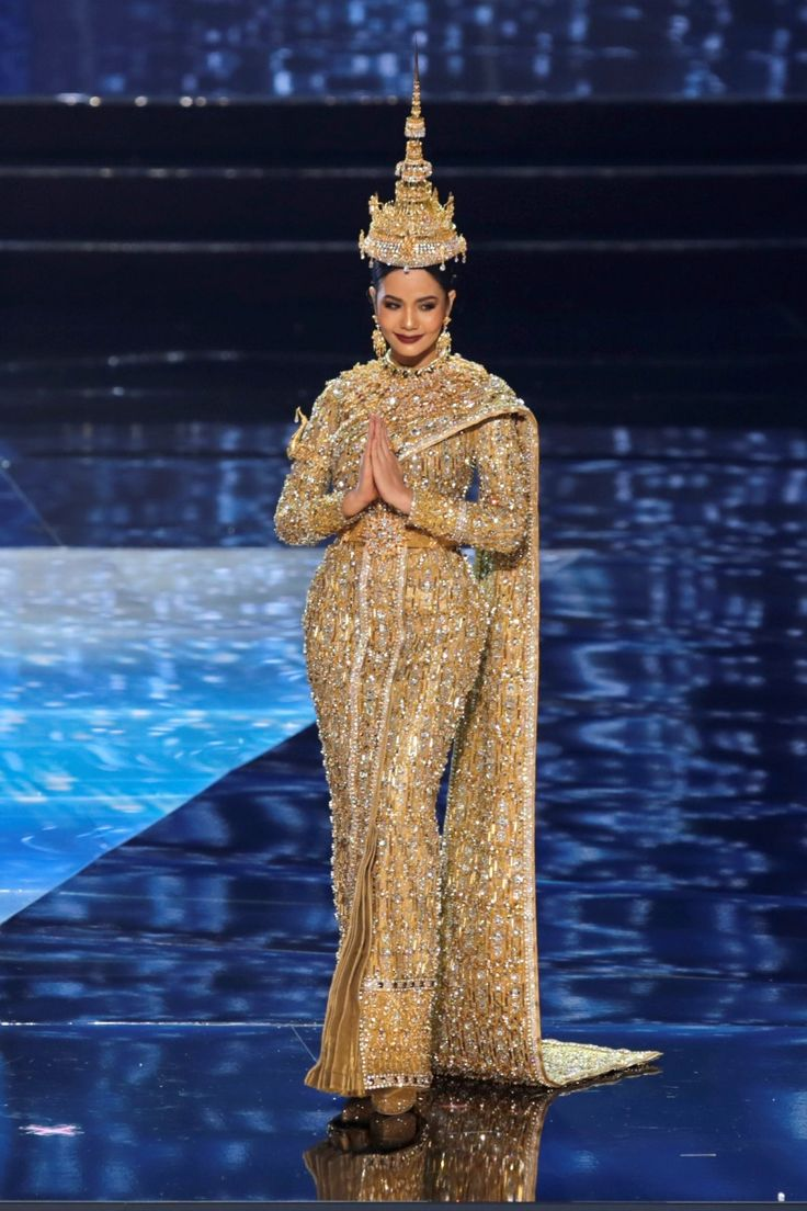 The craziest national costumes from the 2017 Miss Universe pageant Miss Thailand