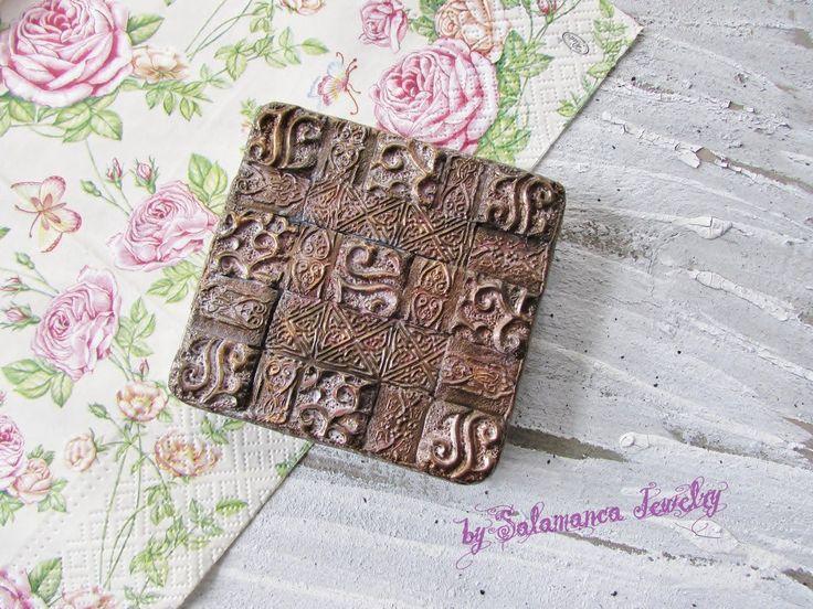 Декорируем коробку FIMO - МАСТЕР-КЛАСС
