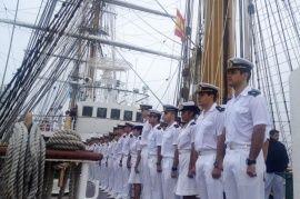 La Fragata Libertad arribó al puerto español de Ferrol - TiempoSur Diario…