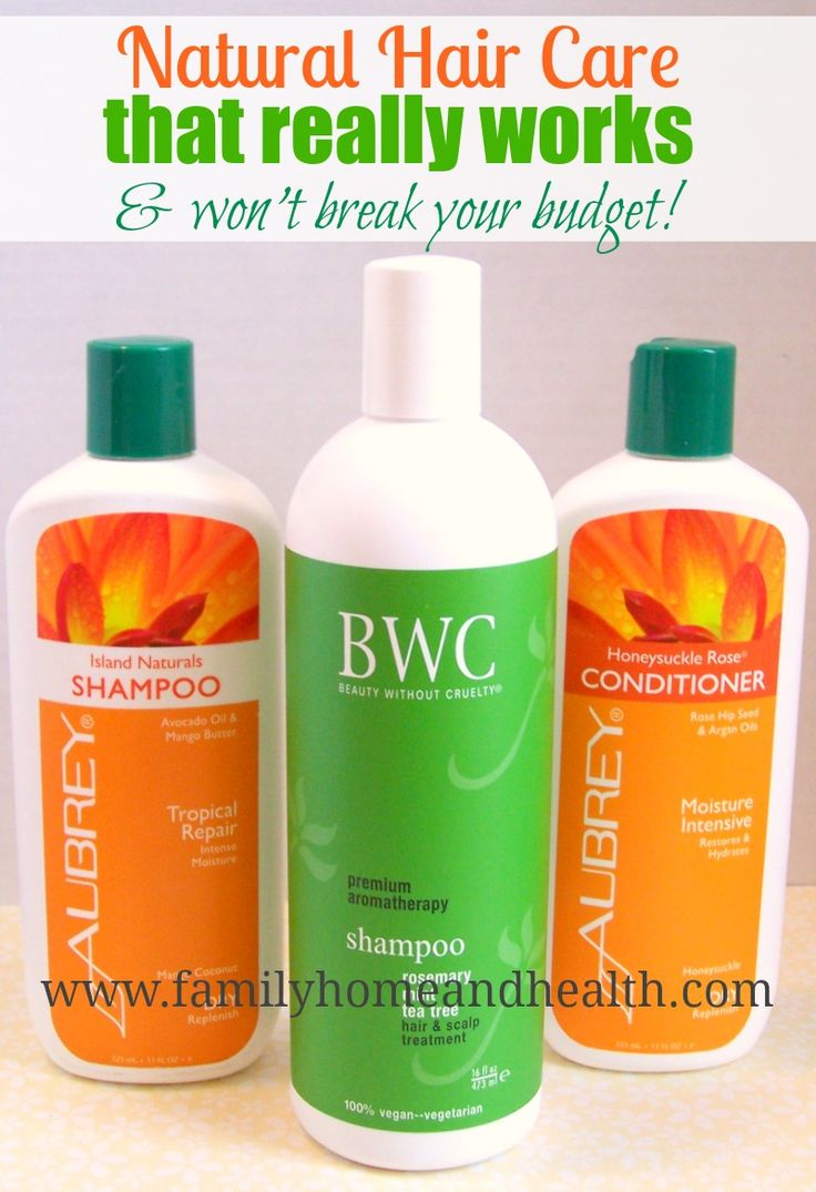 The Best Natural shampoo and conditioner brands that I have found!