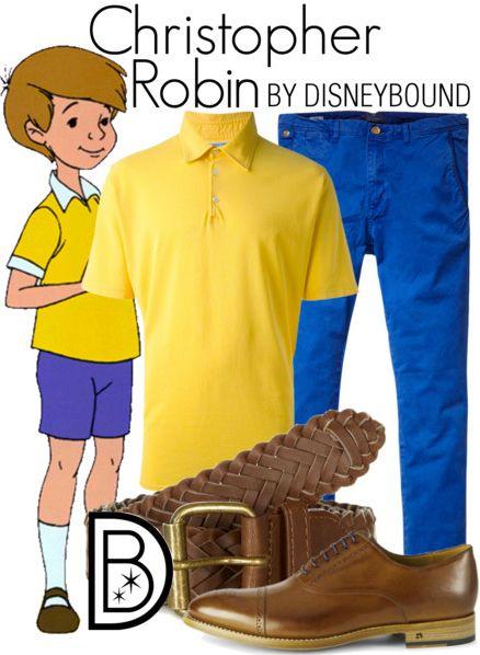 Disney Bound: Christopher Robin (Winnie the Pooh)
