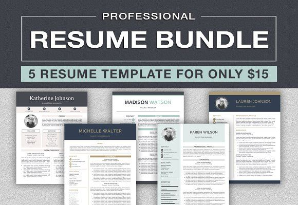 Resume/CV Bundle   @creativework247