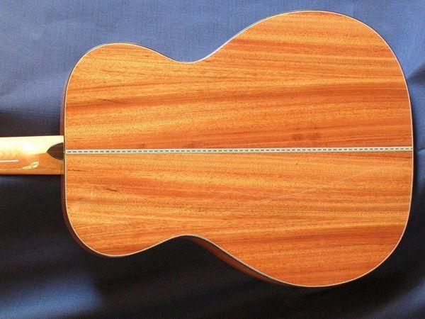 Guitar made from Mopane wood