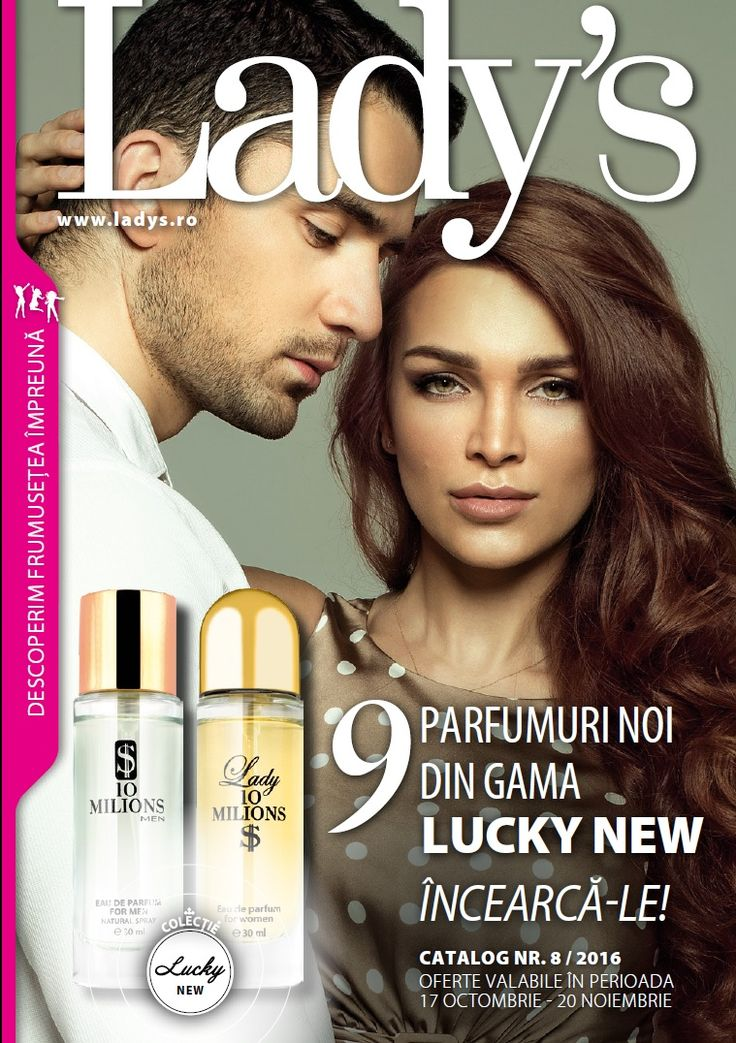Catalog Ladys 17 Octombrie - 20 Noiembrie 2016! Oferte si recomandari: apa de parfum dama, 30 ml, Natural Blackberry 22,99 lei; apa de parfum pentru barbati