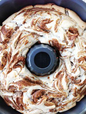 Skinny Pumpkin Spice & Cream Cheese Bread