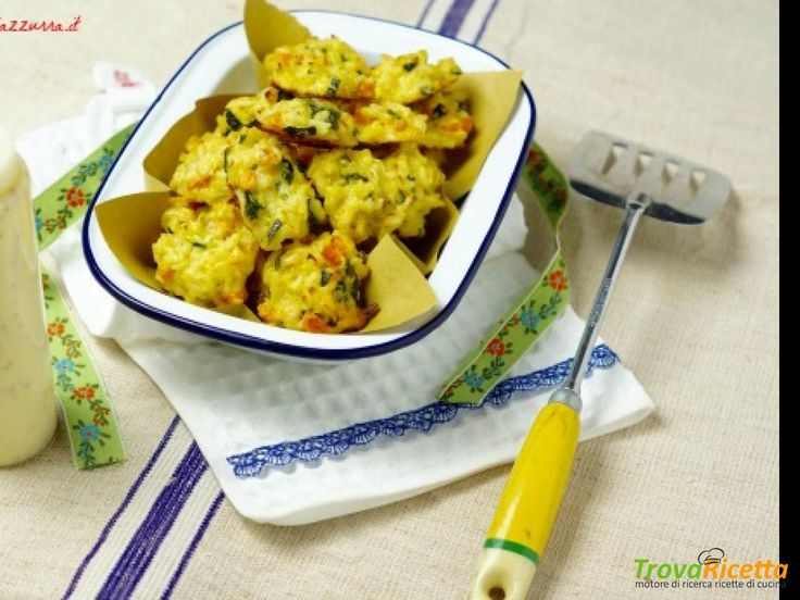 FRITTELLE DI RICICLO....VEGETARIANE!  #ricette #food #recipes