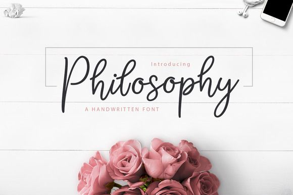 Download the Philosophy Script font and hundreds of other fonts now on Creative Fabrica. Get instant access and start right away.