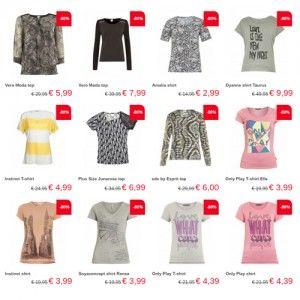 Nu bij Neckermann: Neckermann korting 80% op damesshirts & tops. Neckermann.com is een online warenhuis met onderandere damesmode, herenmode, kindermode...
