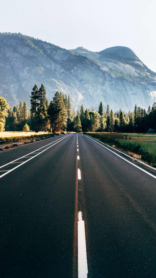 Wallpaper, Naturaleza, Bosque, Montañas, Asfalto, Carretera, Route 66 Más