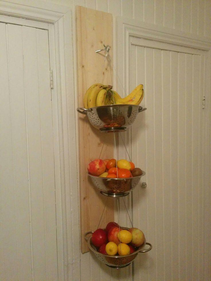 Panier de fruits diy