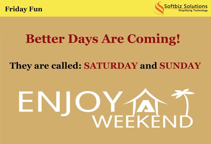 Enjoy your weekend!