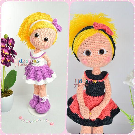 ❤ Bienvenida a tienda de patrones de diseños de Havva ❤  ❥ Este listado está para un patrón de amigurumi, no el juguete terminado. ❥ Crochet patrón