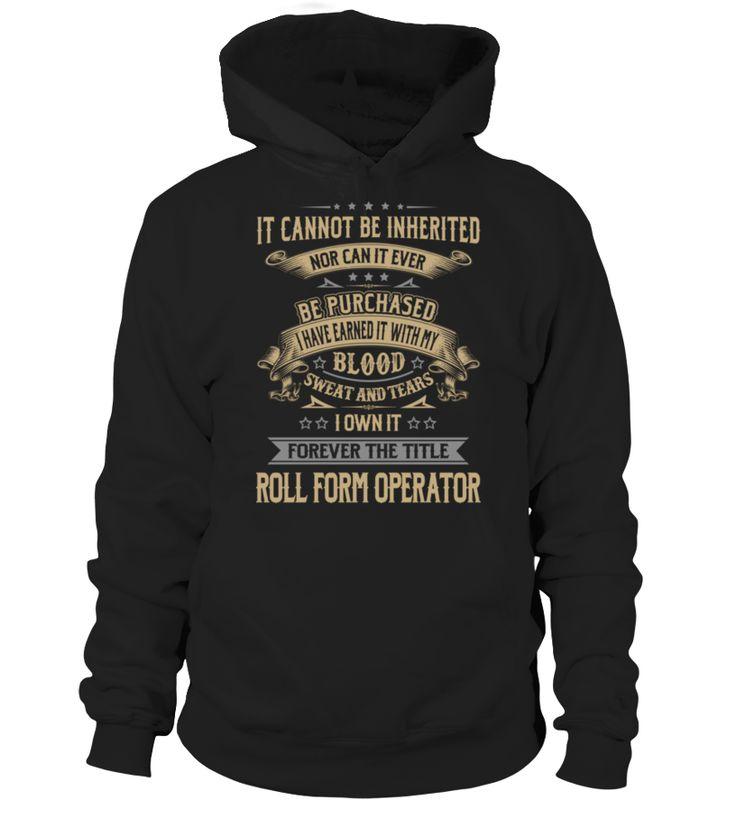 Roll Form Operator #RollFormOperator