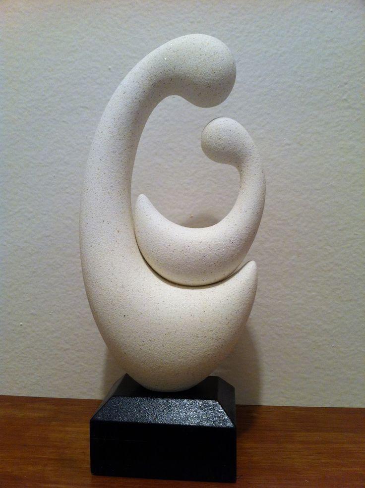 Eames Era Modern Art Sculptures