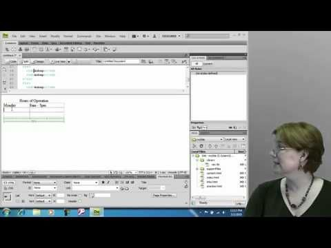 TIPS & TRIK BELAJAR Designing Tables in Dreamweaver CS4