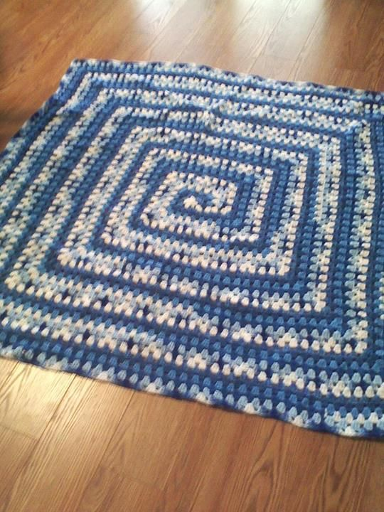 From fan Bluee Ladie: 7 strand neverending throw /by mikey on crochet ...