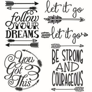 Inspirational Quote with Arrow Pattern - Follow Your Dreams, Let It Go, You Got This, Be Strong and Courageous - Cuttable Design Cut File. Vector, Clipart, Digital Scrapbooking Download, Available in JPEG, PDF, EPS, DXF and SVG. Works with Cricut, Design Space, Sure Cuts A Lot, Make the Cut!, Inkscape, CorelDraw, Adobe Illustrator, Silhouette Cameo, Brother ScanNCut and other compatible software.