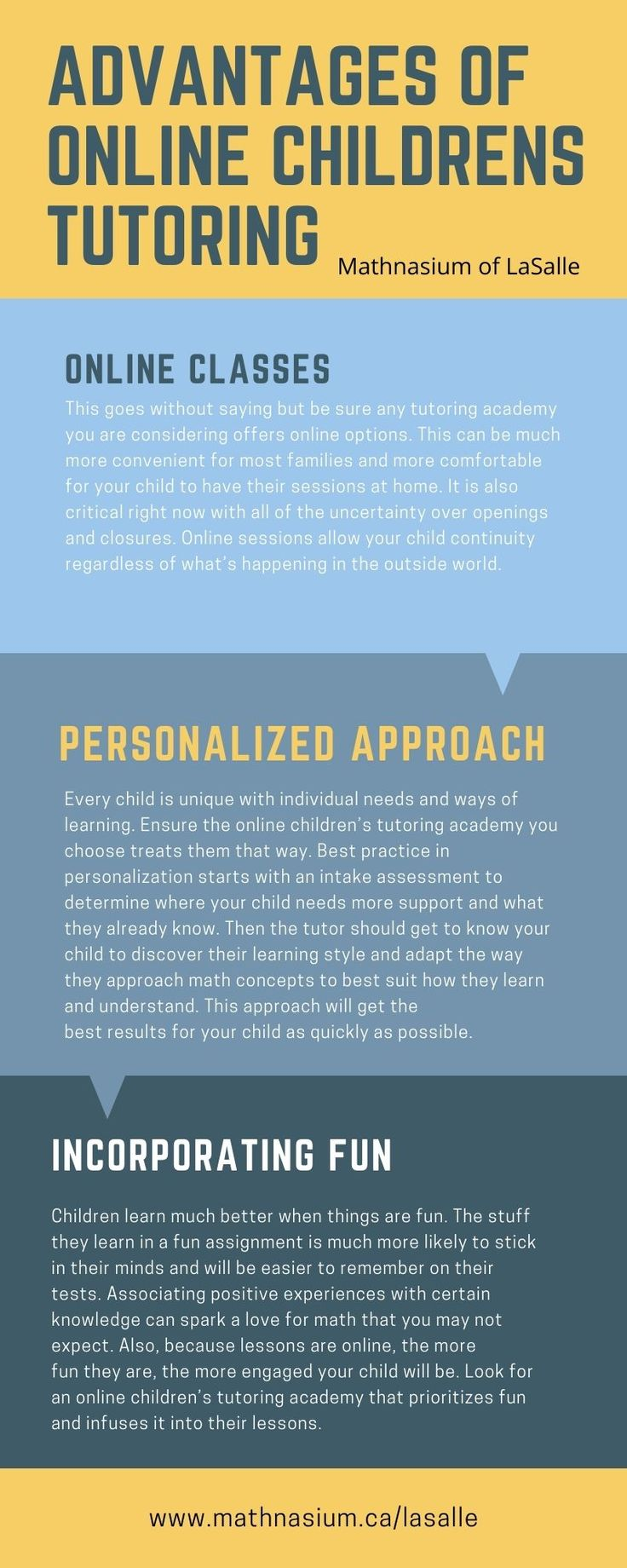 Advantages of online children's tutoring