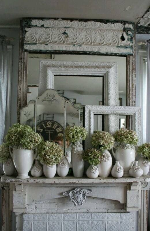 2725 Best Images About Cottage Shabby Chic And White Decor On Pinterest Painted Cottage