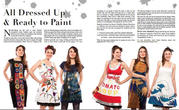Cassie Stephens: Feature in Nashville Arts Magazine!