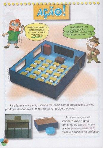 Instruções para maquetes de sala de aula - Adaptar e Incluir