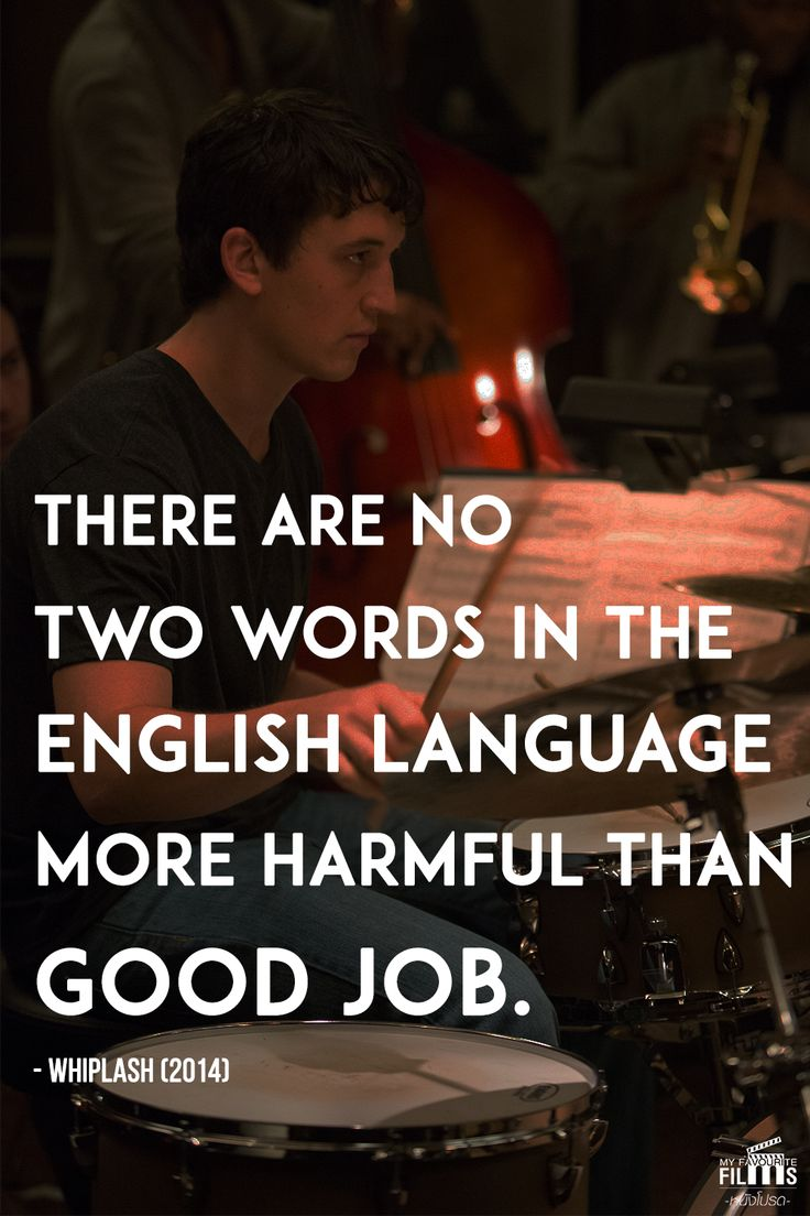 whiplash movie quotes - Google Search