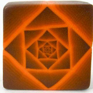 Tutorial: Polymer Clay Fractal Art Cane от PolymerClayWorkshop