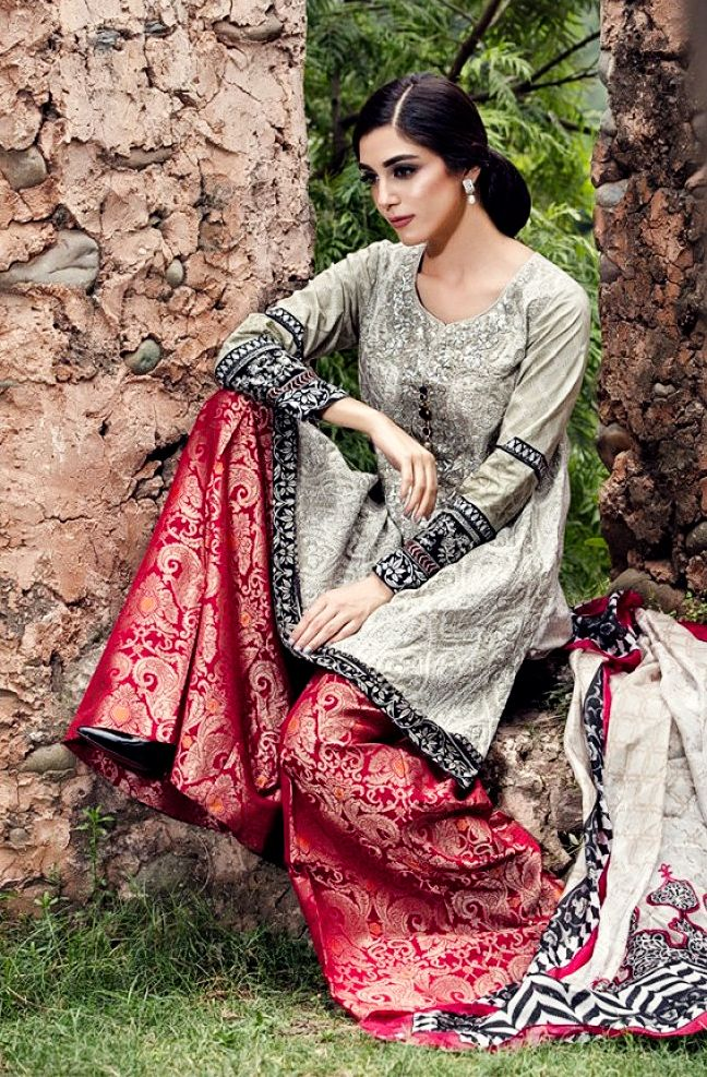 Maria B Eid Lawn Collection 2016