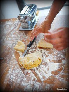 Comment faire des pâtes fraîches fait maison ? - Marciatack.fr