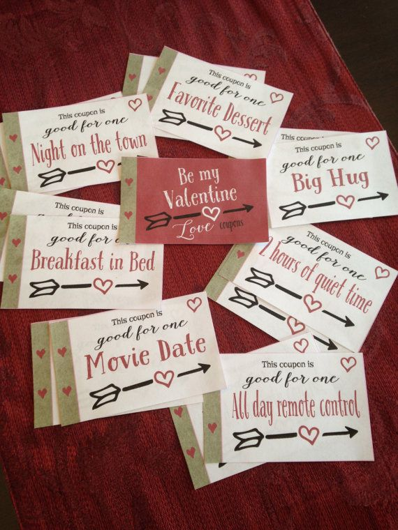 Husband gift coupons