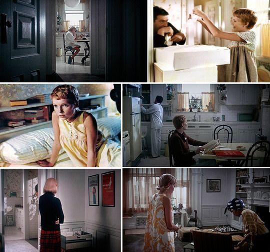 Rosemary's Baby movie's interiors