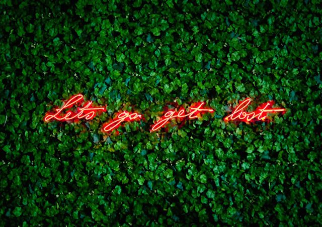Neon Sign Installations / Olivia Steele