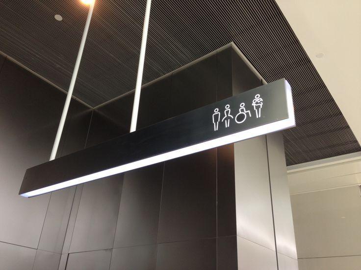 Minimal amenities sign
